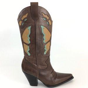 Nine West Westen Cowboy boots